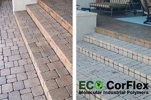 Paver Sealer Patio Paver Driveway Paver Poly Enhance Sealing Staining