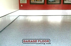 Garage Floor Coating Illinois Epoxy Floor Coating Before and After