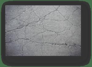 epoxy flooring costs vary damaged concrete garagefloorcoating.com