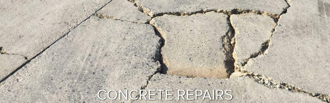 repairing damaged concrete garage floor coating epoxy polyaspartic