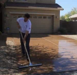 ease of maintenance epoxy polyaspartic driveway coating GarageFloorCoating.com