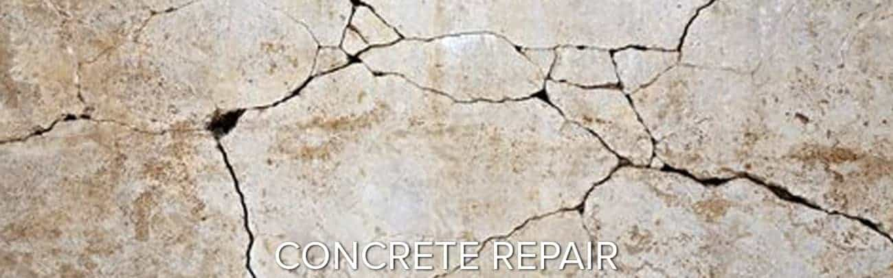 concrete crack repair garage floor coating epoxy polyurea polyaspartic GarageFloorCoating.com
