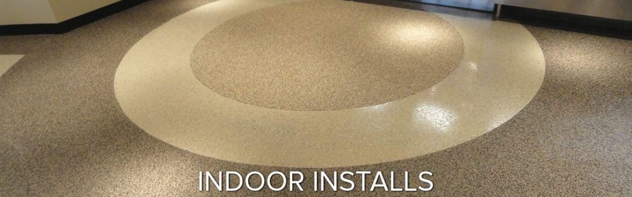 indoor epoxy applications garage floor coating polyurea polyaspartic