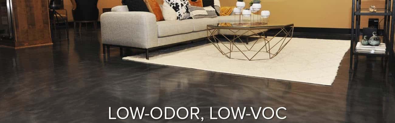 low-odor epoxy polyurethane polyurea polyaspartic floor coatings GarageFloorCoating.com