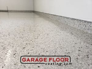 Looking for the singular gift Epoxy Flooring Coating Close Up Detail in Garage