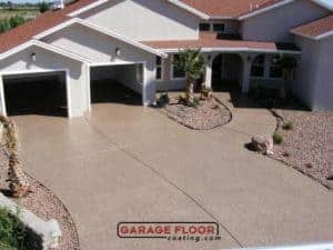 experience and know-how epoxy polyaspartic driveway residential GarageFloorCoating.com