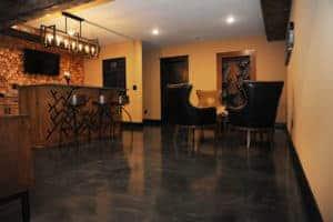Metallic Epoxy Polyaspartic Flooring Interior Coating