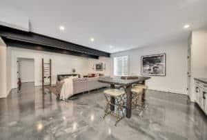 Metallic Epoxy Flooring Interior Coating