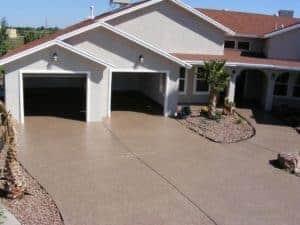 quality flooring epoxy polyaspartic full chip coating driveway garagefloorcoating.com