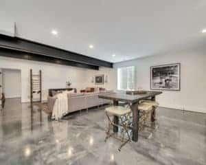 basement epoxy flooring interior coating