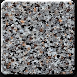 Epoxy flooring Mica Media Bagari SE Stonecrest garage floor coating color sample