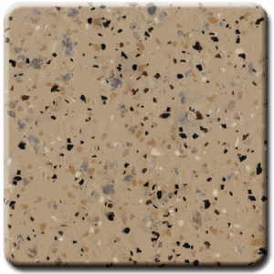 Epoxy flooring Mica Media Diamond Effects Chestnut garage floor coating color chip sample