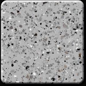 Epoxy flooring Mica Media Diamond Effects Silverleaf garage floor coating color chip sample