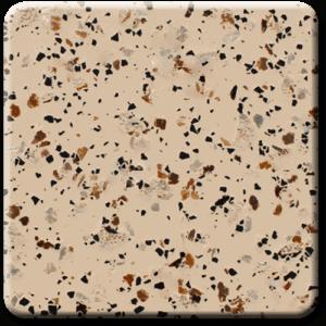 Epoxy flooring Mica Media Stone Silicate MPVA-002 garage floor coating color chip sample