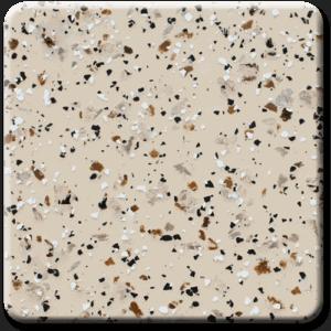 Epoxy flooring Mica Media Stone Silicate MPVA-006 garage floor coating color chip sample