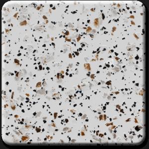 Epoxy flooring Mica Media Stone Silicate MPVA-008 garage floor coating color chip sample