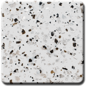 Epoxy flooring Mica Media Stone Silicate MPVA-012 garage floor coating color chip sample