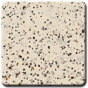 Epoxy flooring Mica Media Stone Silicate MPVA-015 garage floor coating color chip sample