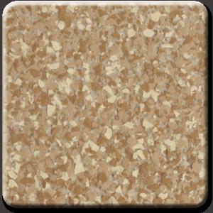 Epoxy flooring Ultra Gold Canyon garage floor coating color sample