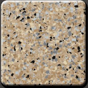 Epoxy flooring Ultra Ocotillo garage floor coating color sample