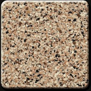Epoxy flooring Ultra Santana garage floor coating color sample