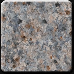 Epoxy flooring Mica Media Vintage Mica Quarry garage floor coating color sample