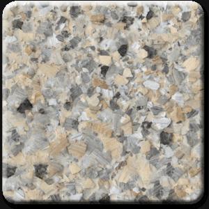 Epoxy flooring Mica Media Vintage Mica Shalestone garage floor coating color sample
